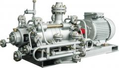 COP pumps for pumping condensate in steam