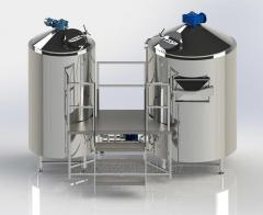 Minibrewery on 1000 liters for cooking