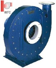 Centrifugal (radial) fan of a high pressure of Q,
