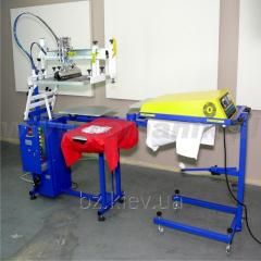 The Shelkotrafaretny machine semi-automatic for