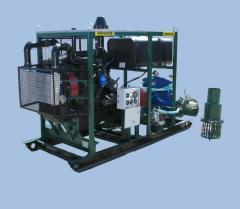 Units pump diesel, stationary