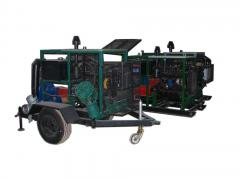 Unit pump diesel mobile