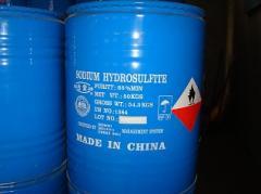 El sodio el hidrosulfito (el sodio el bisulfito,