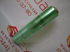 Пленка пищевая зеленая 300мм х 300м 8, 5 мкм