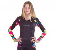 Women's Rashguard Fighter - Camo (polyester /