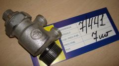 Клапан запорно-присоединительный для...
