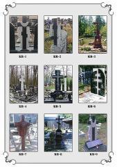 Крест гранитный 1