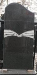 Памятник Гранит Габбро, размер детали 110/50/8