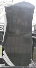 Памятник Гранит Базальт, размер детали120/60/7