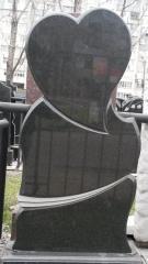 Памятник Гранит Габбро, размер детали 120/60/8