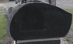 Памятник Гранит Габбро Обапол скала , размер детали 110/60