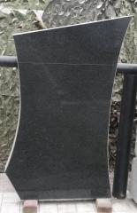 Памятник Гранит Габбро Обапол скала , размер детали 100/60