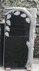 Памятник Гранит Габбро Обапол скала , размер детали 100/50