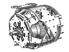 Тяговые генераторы типа ГП-300