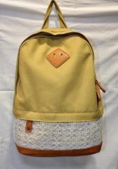 Рюкзак женский N1 желтый