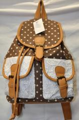 Рюкзак женский 8125 коричневый