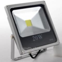 Светодиодный LED прожектор Slim 20W 6000К