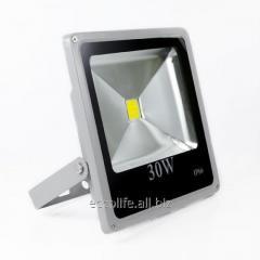 Светодиодный LED прожектор Slim 30W 6000К