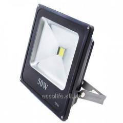 Светодиодный LED прожектор Slim 50W 6500К
