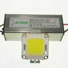 Комплект для сборки LED прожектора и уличного