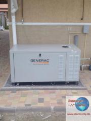 Gas power plants of Generac