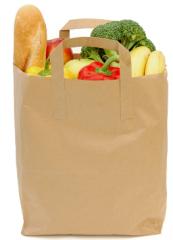Бумажные пакеты для продуктов питания, для хлеба,