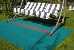 Модульное пластиковое покрытие для садовых дорожек