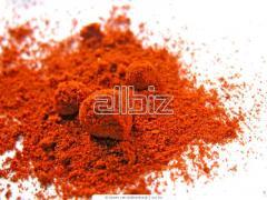 Ground red paprika