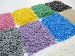 PVC firm in granules for stamping (primary)