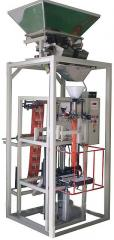 Automatic machine for packing of sugar, grain,