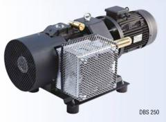 Vacuum pumps bladed without lubricant the DBS