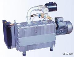 The compressor bladed with lubricant the DBLC