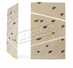 Children's rock climbing wall