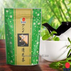 Herbal tea with ganodermy at cold, DXN Spica Tea