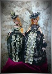 """Dolls - caskets. """"Twin"""""""