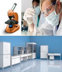 Мебель -  для химических лабораторий и медицинских
