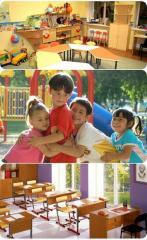 Мебель для дошкольных и школьных учреждений