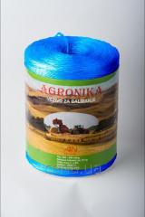 Шпагат полипропиленовый Агроника (синий)