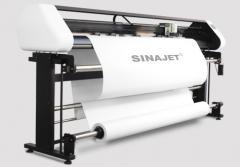Плоттер для печати лекал на бумагу Sinajet Popjet 1611С-Z Two Head