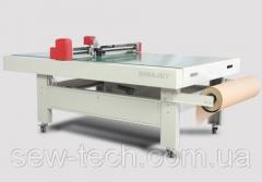 Режущий плоттер Sinajet серий FG1209/1509/1512 с вакуумной фиксацией материала