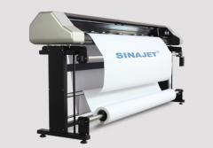 Плоттер для печати лекал на бумагу Sinajet Popjet 1800C-Z Two Head