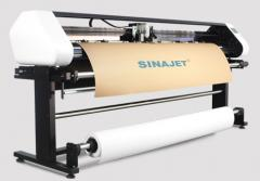 Режущий плоттер Sinajet Vertical Inkjet Cuter Plotter Popjet 1200-G