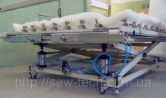 Рабочий стол для запялевания одеяла ПНЕВМО