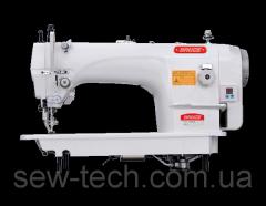Швейная машина 1-игольная для тяжелых материалов с двойным продвижением и увеличенным челноком Bruce 6380B