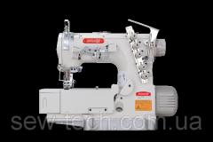 Плоскошовная машина 3-игольная для окантовки, подгиба, растрачивания оверложных швов Bruce 562ADI-02BB