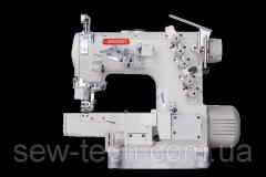 Швейная машина 3-игольная, цилиндрическая платформа с авт.обрезкой нити, авт. подъем лапки и пуллером Bruce 664DII-01GB/UT/RT