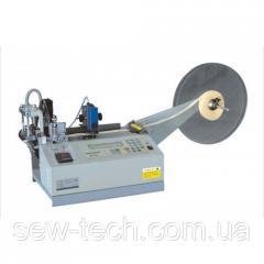 Автоматическая машина для нарезания строп с оплавлением края с фотоэлементом CF-120H