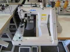 Трехигольная швейная машина Juki МS-1261F/V045S двойного цепного стежка с П-образной платформой