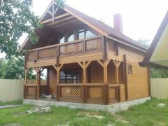 Дом деревянный каркасный
