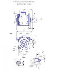 Электродвигатель ДТРН34АС